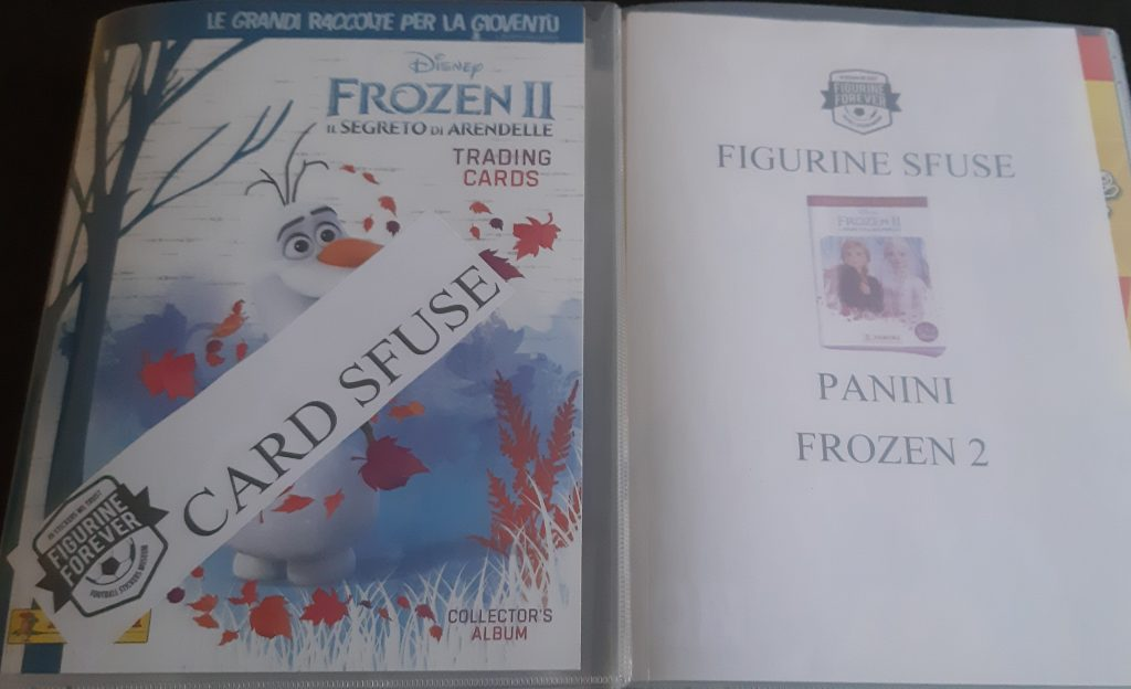 PANINI DISNEY FROZEN-la regina di serie 2 momenti magici Adesivo singola 1
